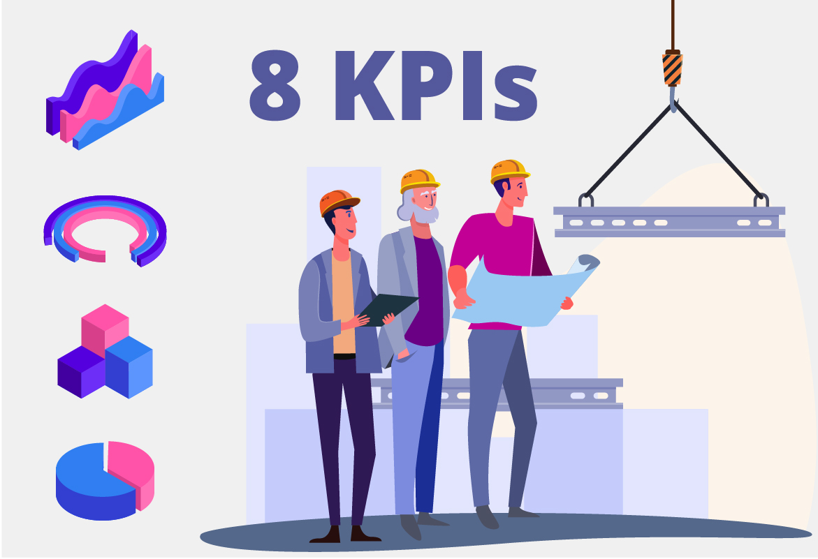 8 KPIs you will need when running a construction